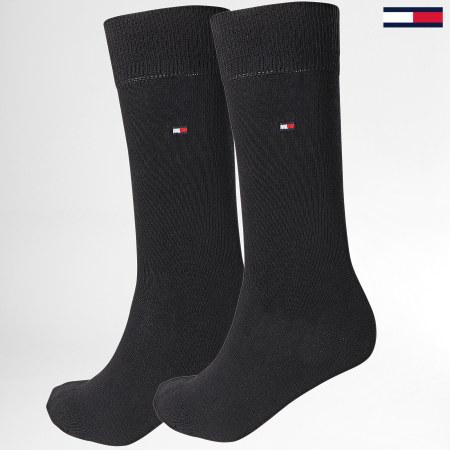 Tommy Hilfiger Jeans - Lot De 2 Paires De Chaussettes 371111 Noir