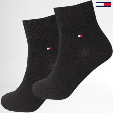 Tommy Hilfiger Jeans - Lot De 2 Paires De Chaussettes 342025001 Noir