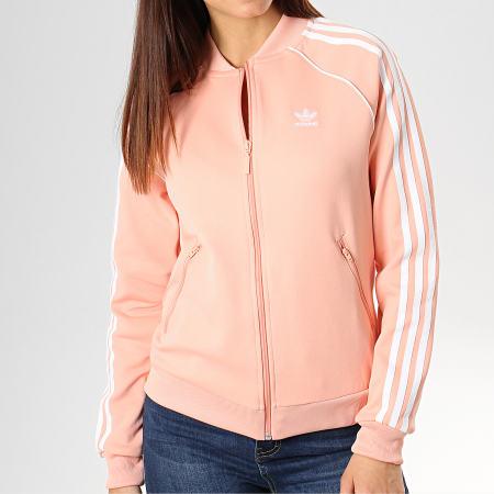veste femme adidas rose
