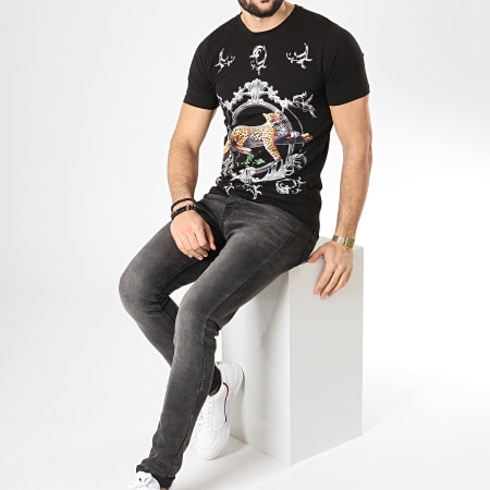 Berry Denim - Tee Shirt 114 Noir Renaissance