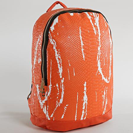 Berry Denim - Sac A Dos HH011 Orange Reptile