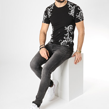 Berry Denim - Tee Shirt 108 Noir Gris Renaissance