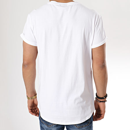 G Star Tee Shirt Shelo D13311 336 Blanc