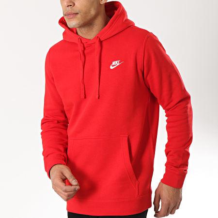 Capuche Rouge Sweat Sportswear Nike 804346 W9DEYeH2bI
