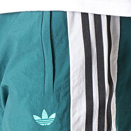 adidas Pantalon Jogging A Bandes Arc FH7902 Vert