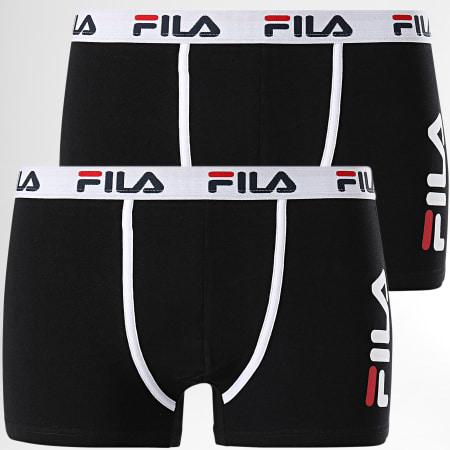 Fila - Lot De 2 Boxers FU5040 Noir