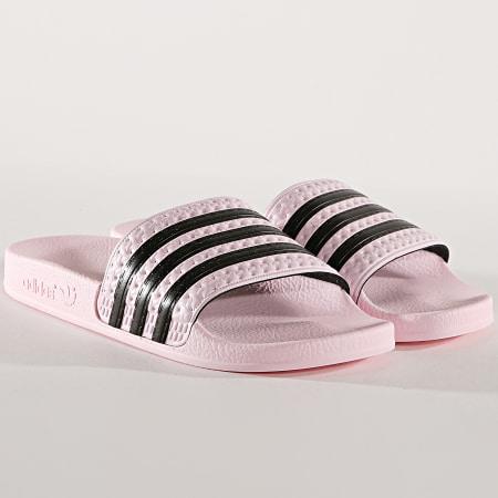 adidas femme rose et noir