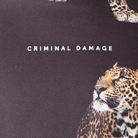 Criminal Damage - Sweat Capuche Pack Noir
