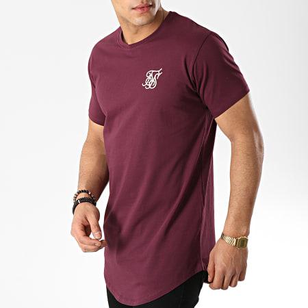 SikSilk - Tee Shirt Oversize 13787 Bordeaux