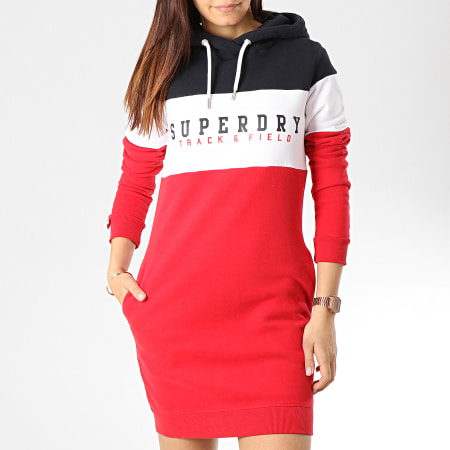 Superdry Robe Sweat Capuche Femme Track And Field G80120NT