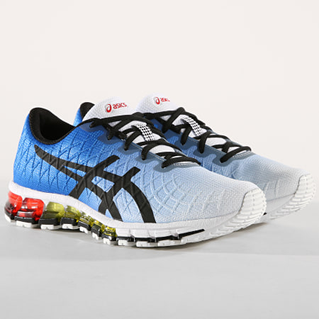 Asics - Baskets Gel Quantum 180 4 1021A104 White Black Blue