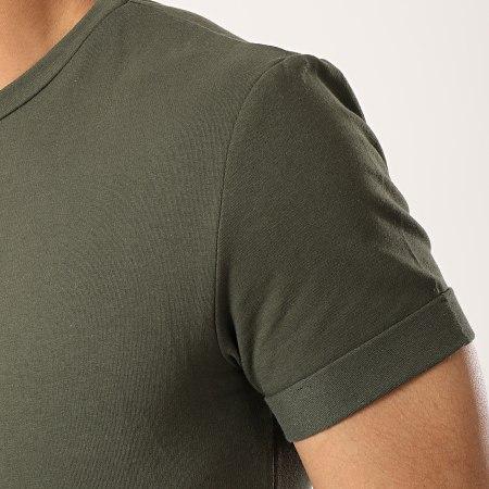 Aarhon - Tee Shirt Oversize 1804 Vert Kaki