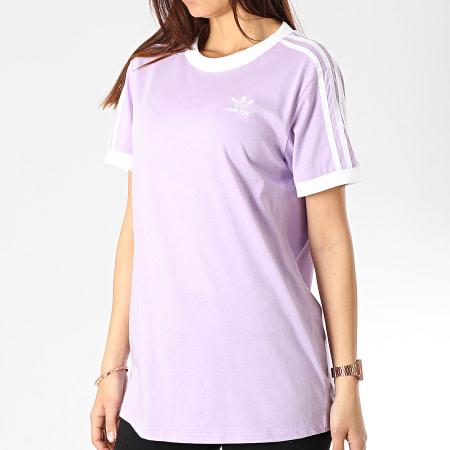 tee shirt adidas femme blanc
