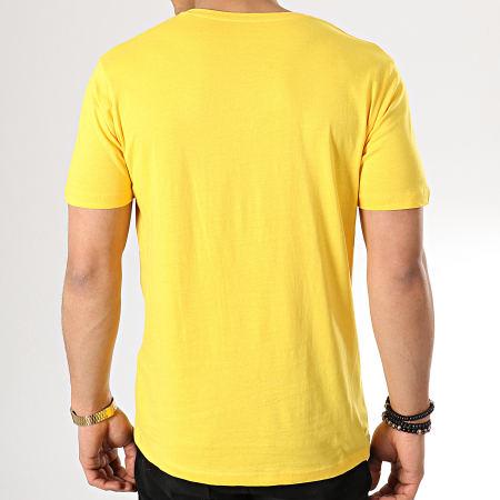 Celio - Tee Shirt Poche Vebasic Jaune