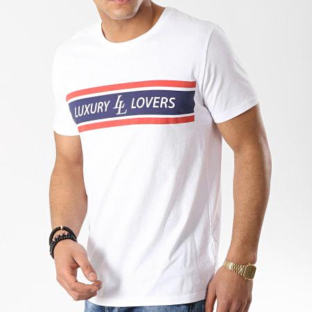 Luxury Lovers - Tee Shirt Strike Blanc