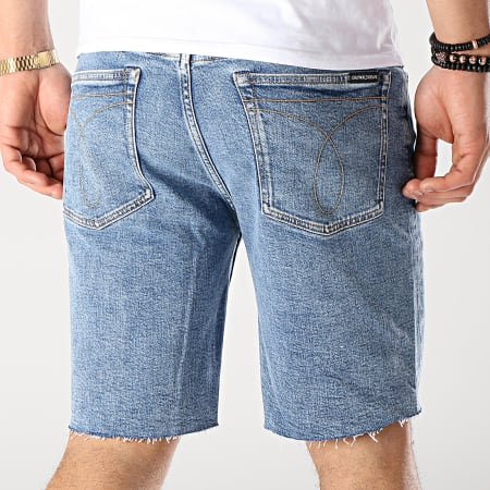 Calvin Klein - Short Jean Archive Icons 3050 Bleu Denim