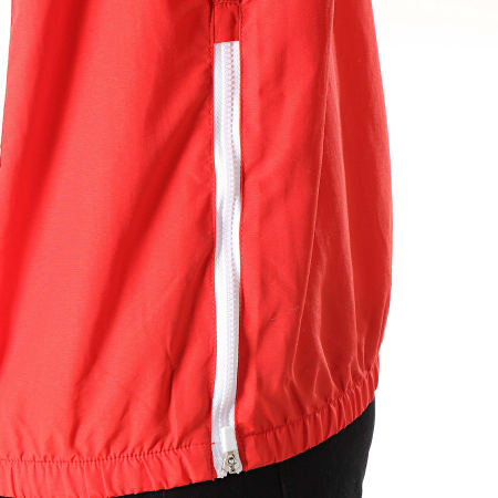 Ellesse - Coupe-Vent Tricolore 1181N Rouge Bleu Marine Blanc