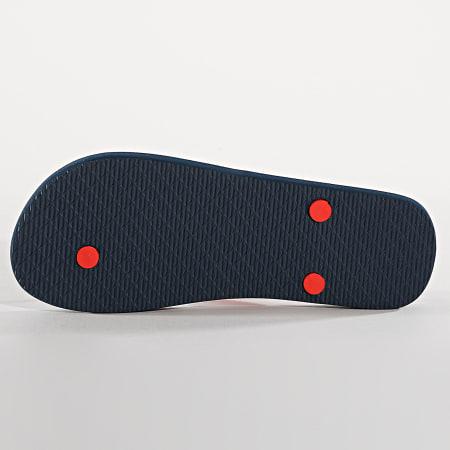 Fila - Tongs Troy Slipper 1010288 Bleu Marine Rouge