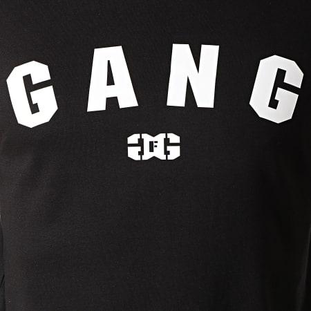 Ghetto Fabulous Gang - Tee Shirt Manches Longues Gang Noir