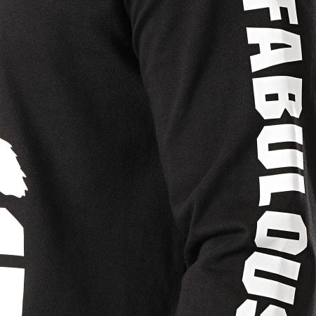 Ghetto Fabulous Gang - Tee Shirt Manches Longues Gorilla Noir