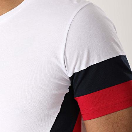 LBO - Tee Shirt Oversize Tricolore 736 Blanc