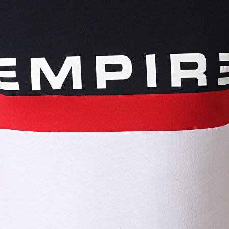 Sofiane - Tee Shirt 93 Empire Tricolore Bleu Marine Blanc Rouge