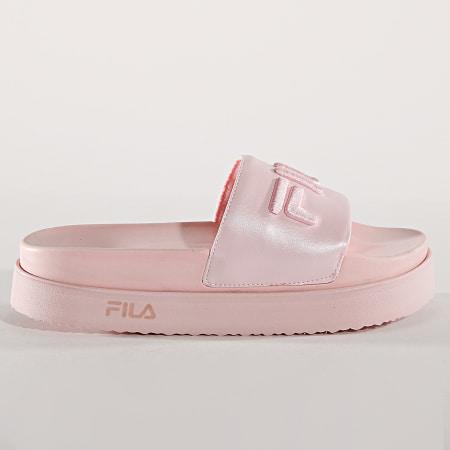 Fila - Claquettes Femme Morro Bay Zeppa 1010638 71D Rose