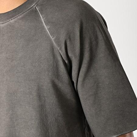 Frilivin - Tee Shirt Oversize 5225 Gris Anthracite