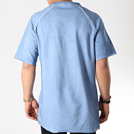 Frilivin - Tee Shirt Oversize 5225 Bleu Clair