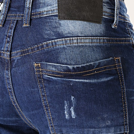 MTX - Short Jean Slim E6809 Bleu Brut