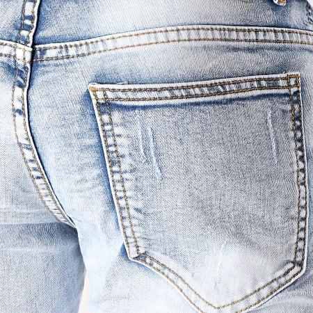 MTX - Short Jean Slim E6837 Bleu Wash