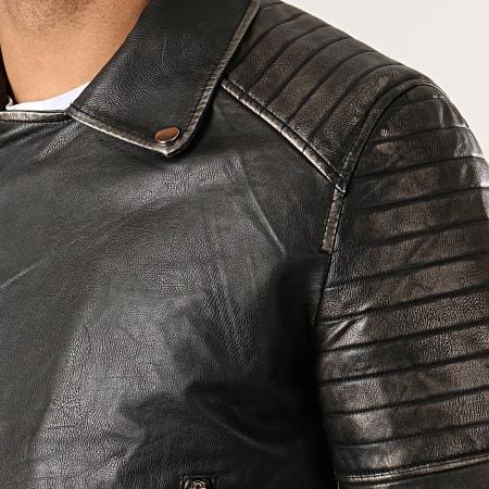 MTX - Veste Biker 66101 Noir