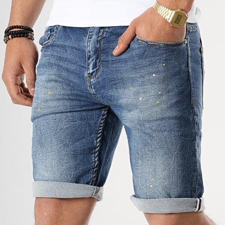 MTX - Short Jean DF031 Bleu Denim