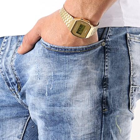 Terance Kole - Short Jean 77014 Bleu Denim