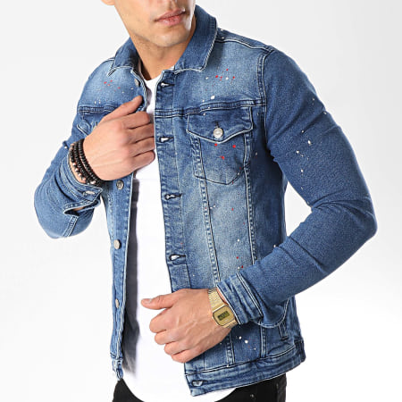 Uniplay - Veste Jean 026 Bleu Denim