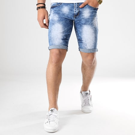 MTX - Short Jean 995 Bleu Denim
