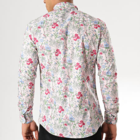 MTX - Chemise Manches Longues Z209S Rose Floral