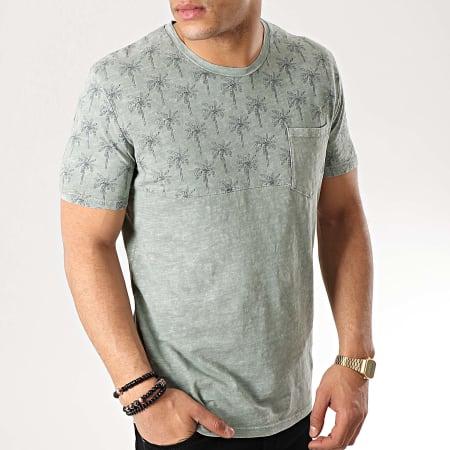 MTX - Tee Shirt Poche F1026 Vert Kaki