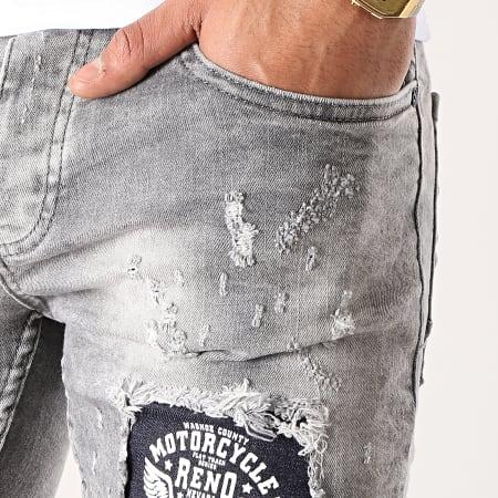 Classic Series - Short Jean 6159 Gris
