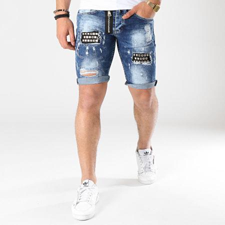 Classic Series - Short Jean 6155 Bleu Denim