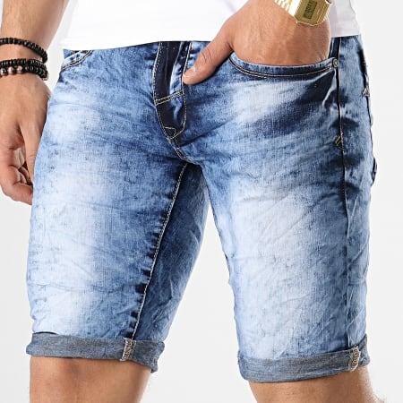 MTX - Short Jean YB121 Bleu Denim