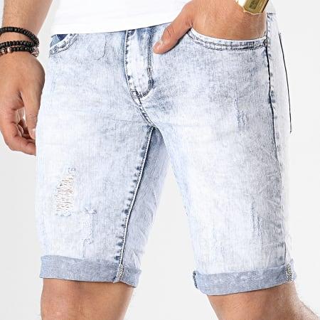 MTX - Short Jean Slim E6850 Bleu Wash
