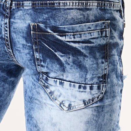 MTX - Short Jean Slim E6870 Bleu Denim
