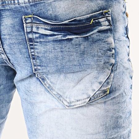 MTX - Short Jean YB116 Bleu Wash