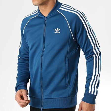 veste adidas sst bleu
