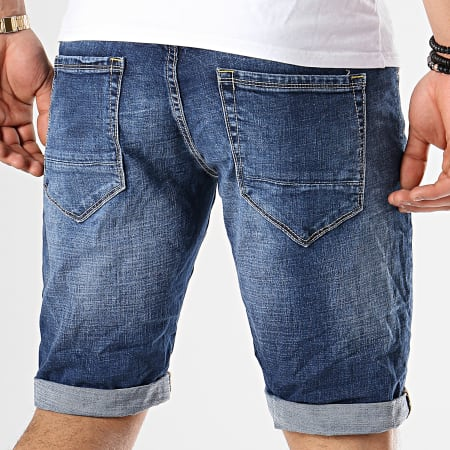 Classic Series - Short Jean TH37507 Bleu Denim