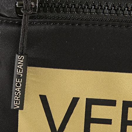 Versace Jeans - Sacoche Linea Macrotag Dis 1 Noir Doré