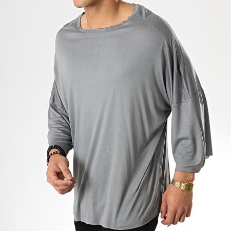Classic Series - Tee Shirt Oversize 190 Gris