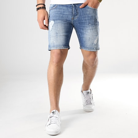 Classic Series - Short Jean Slim 3271 Bleu Denim