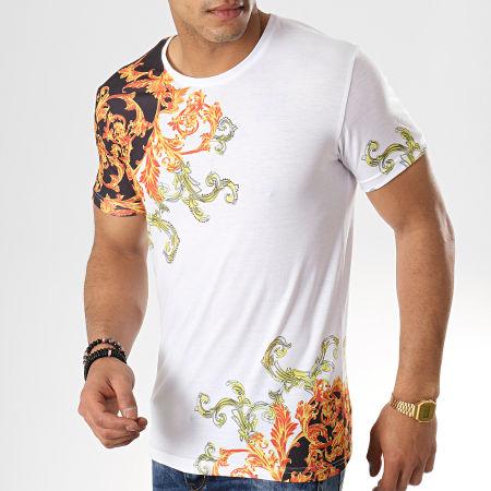 John H - Tee Shirt M-03 Blanc Renaissance